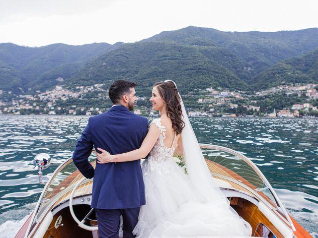 Il matrimonio di Marco e Stefania a Moltrasio, Como 76