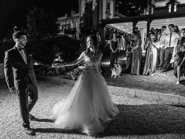 Il matrimonio di Marco e Stefania a Moltrasio, Como 103