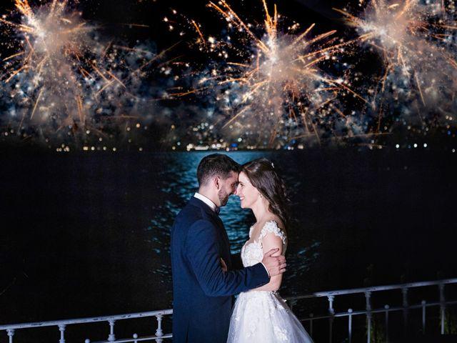 Il matrimonio di Marco e Stefania a Moltrasio, Como 104