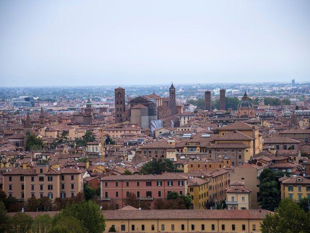 Il matrimonio di Ferdinando e Maria Cristina a Bologna, Bologna 1
