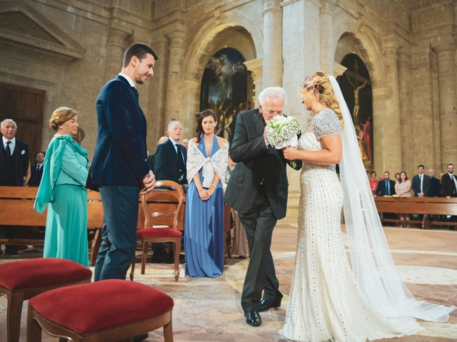Il matrimonio di Giacomo e Claudia a Montepulciano, Siena 7