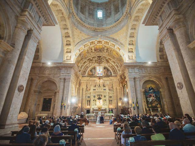 Il matrimonio di Giacomo e Claudia a Montepulciano, Siena 11