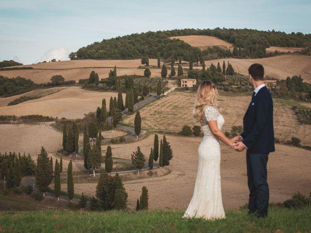 Il matrimonio di Giacomo e Claudia a Montepulciano, Siena 18