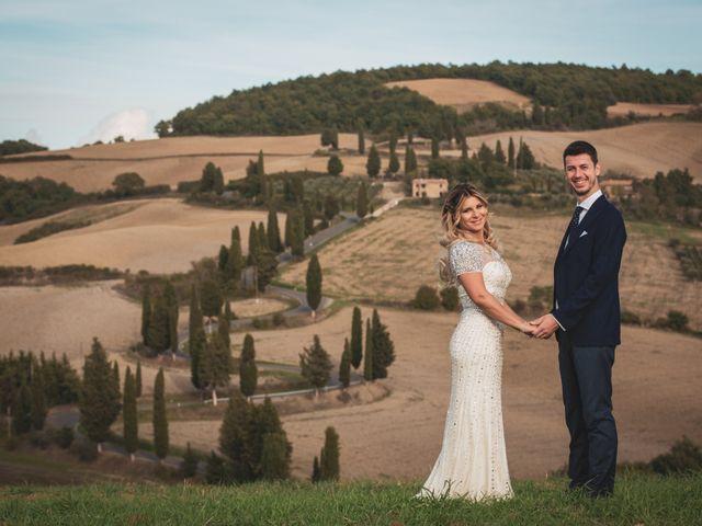 Il matrimonio di Giacomo e Claudia a Montepulciano, Siena 19