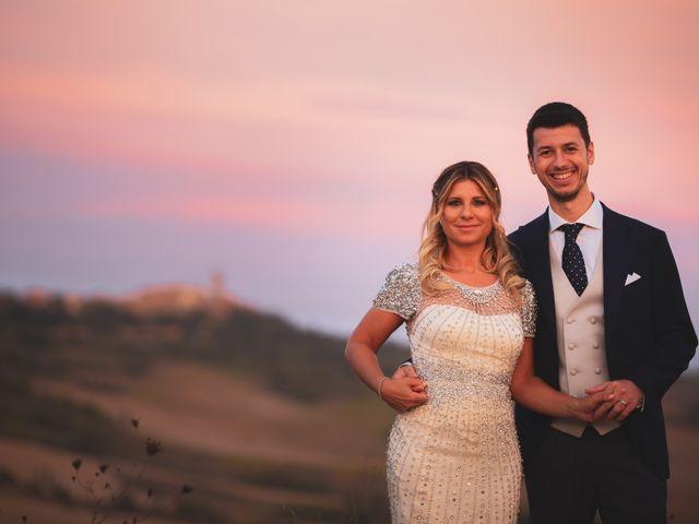 Il matrimonio di Giacomo e Claudia a Montepulciano, Siena 25