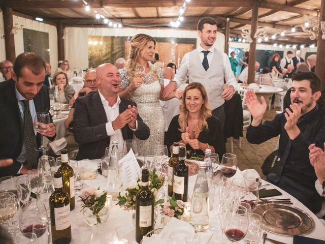 Il matrimonio di Giacomo e Claudia a Montepulciano, Siena 34