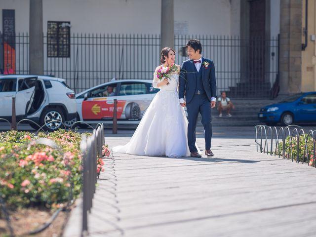 Il matrimonio di Masaki e Sumie a Firenze, Firenze 3