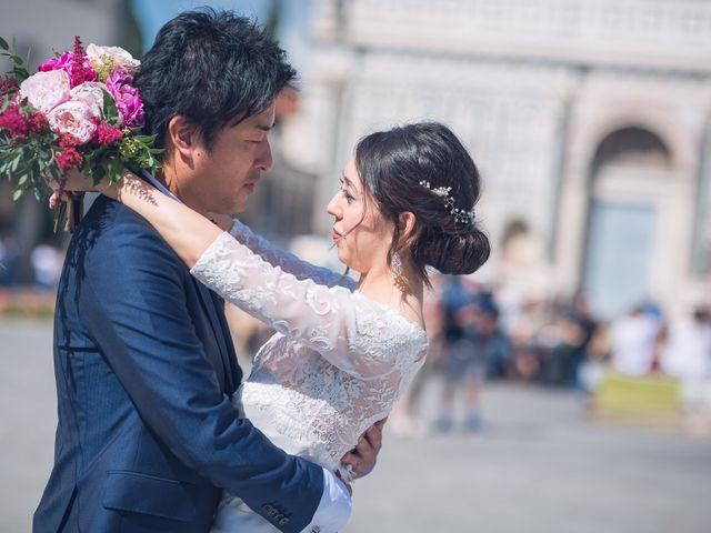 Il matrimonio di Masaki e Sumie a Firenze, Firenze 4