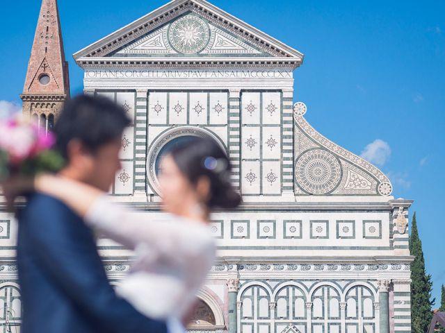 Il matrimonio di Masaki e Sumie a Firenze, Firenze 5