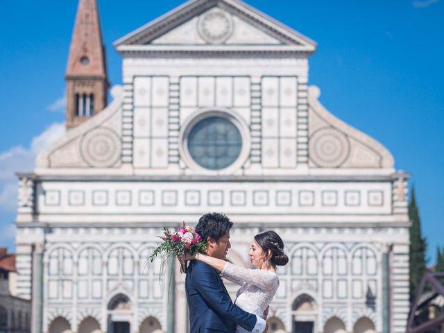 Il matrimonio di Masaki e Sumie a Firenze, Firenze 6