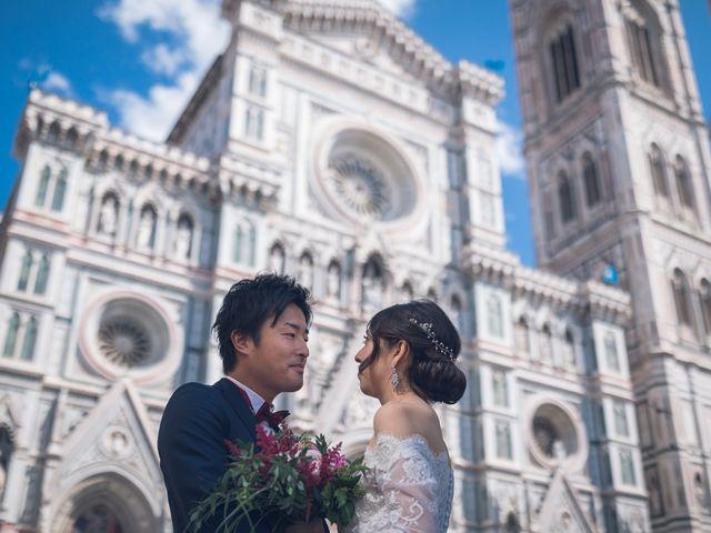 Il matrimonio di Masaki e Sumie a Firenze, Firenze 10