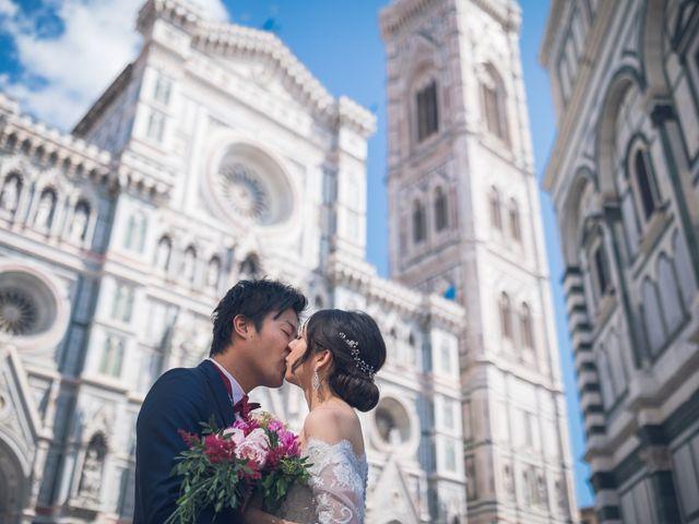 Il matrimonio di Masaki e Sumie a Firenze, Firenze 11