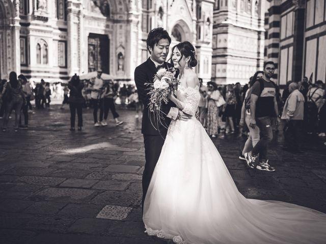Il matrimonio di Masaki e Sumie a Firenze, Firenze 12