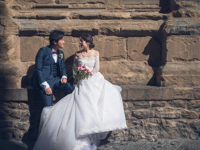 Il matrimonio di Masaki e Sumie a Firenze, Firenze 13