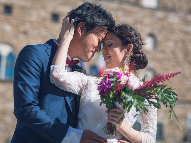 Il matrimonio di Masaki e Sumie a Firenze, Firenze 16