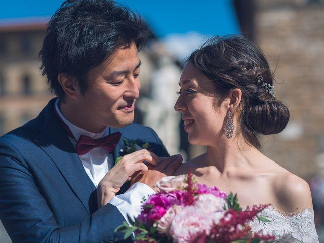 Il matrimonio di Masaki e Sumie a Firenze, Firenze 17