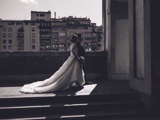 Il matrimonio di Masaki e Sumie a Firenze, Firenze 19