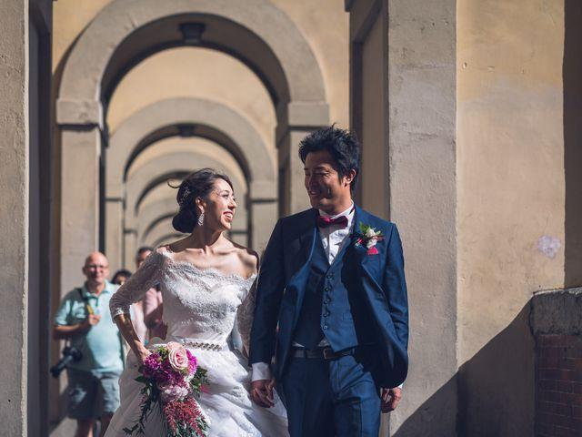 Il matrimonio di Masaki e Sumie a Firenze, Firenze 20