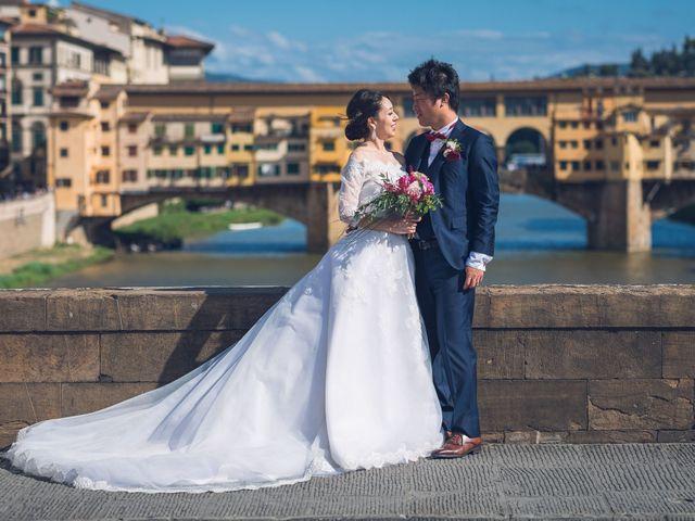 Il matrimonio di Masaki e Sumie a Firenze, Firenze 1