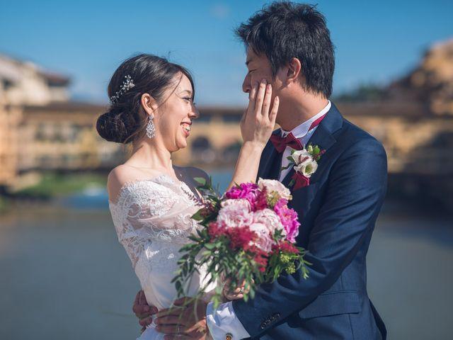 Il matrimonio di Masaki e Sumie a Firenze, Firenze 21