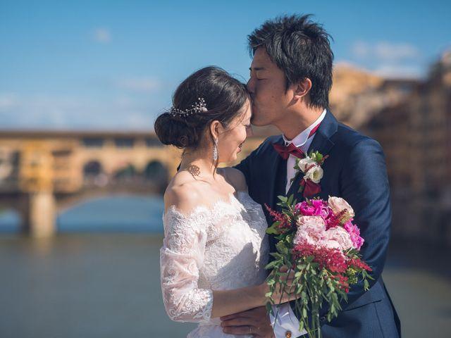 Il matrimonio di Masaki e Sumie a Firenze, Firenze 22