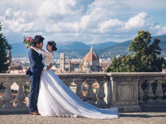 Il matrimonio di Masaki e Sumie a Firenze, Firenze 25