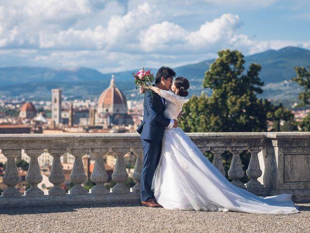 Il matrimonio di Masaki e Sumie a Firenze, Firenze 26