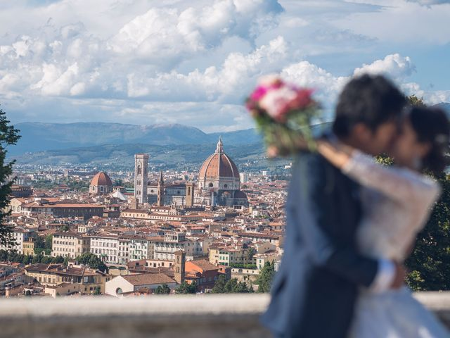 Il matrimonio di Masaki e Sumie a Firenze, Firenze 27