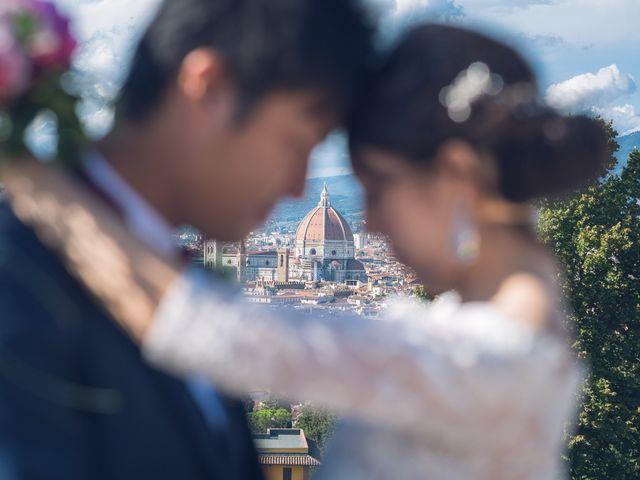 Il matrimonio di Masaki e Sumie a Firenze, Firenze 28