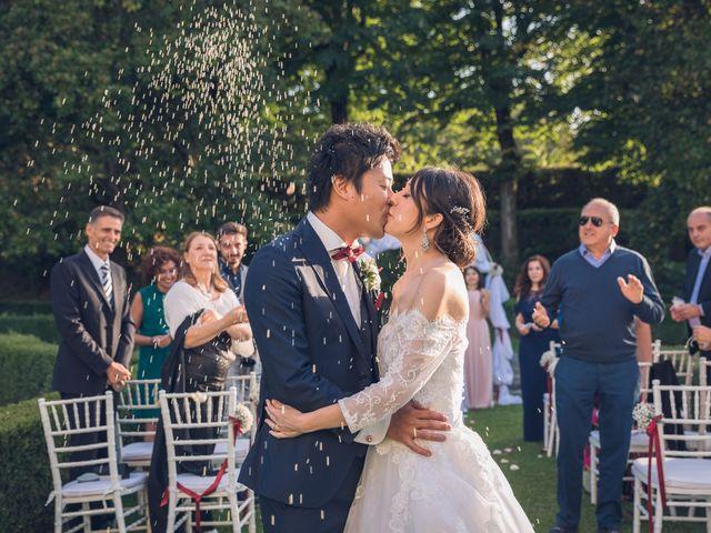 Il matrimonio di Masaki e Sumie a Firenze, Firenze 46