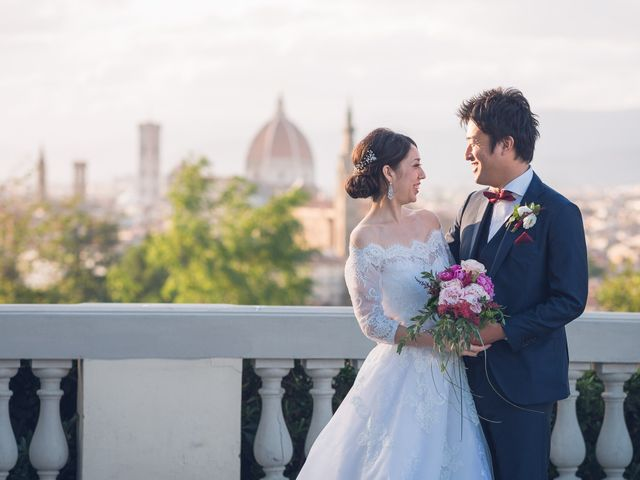 Il matrimonio di Masaki e Sumie a Firenze, Firenze 47