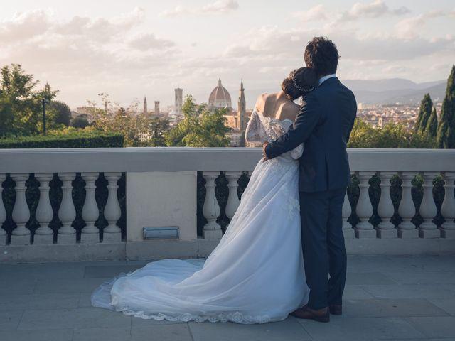 Il matrimonio di Masaki e Sumie a Firenze, Firenze 49