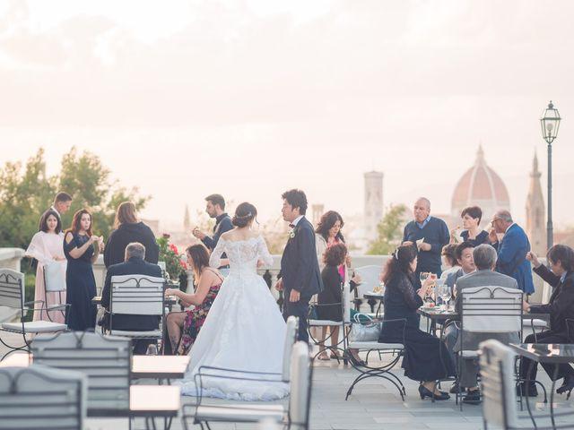 Il matrimonio di Masaki e Sumie a Firenze, Firenze 55