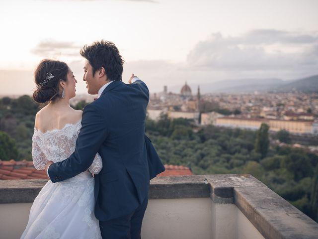 Il matrimonio di Masaki e Sumie a Firenze, Firenze 56