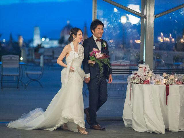 Il matrimonio di Masaki e Sumie a Firenze, Firenze 57
