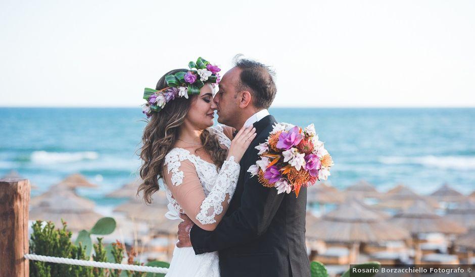 Il matrimonio di Vincenzo e Veronica a Frattamaggiore, Napoli