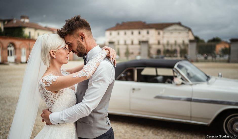 Il matrimonio di Luca e Stefania a Racconigi, Cuneo