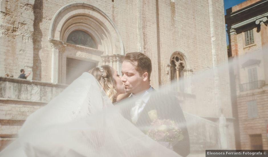 Il matrimonio di Kévin e Marta a Gubbio, Perugia