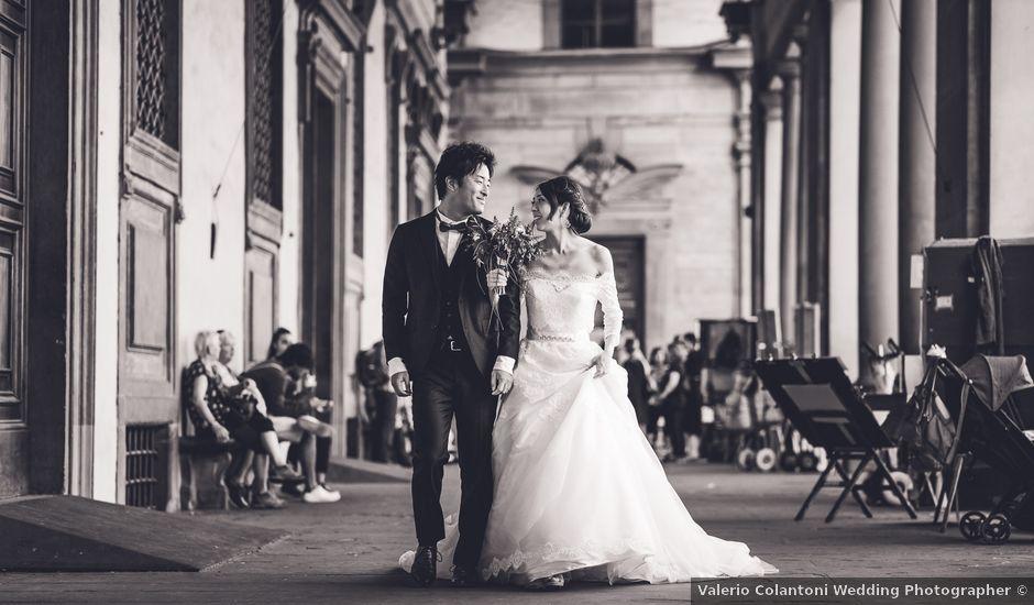 Il matrimonio di Masaki e Sumie a Firenze, Firenze