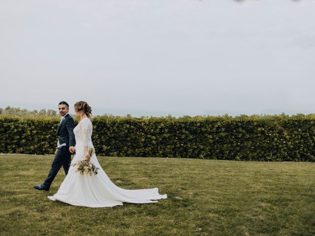 le nozze di Carmela e Sandro