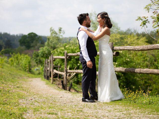 Il matrimonio di Andrea e Alessia a Trezzo sull'Adda, Milano 17