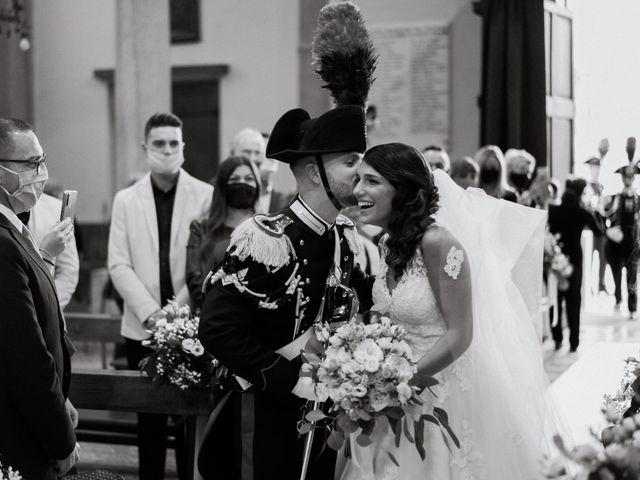 Il matrimonio di Pietro e Alice a Cantello, Varese 21