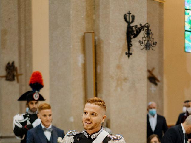 Il matrimonio di Pietro e Alice a Cantello, Varese 22