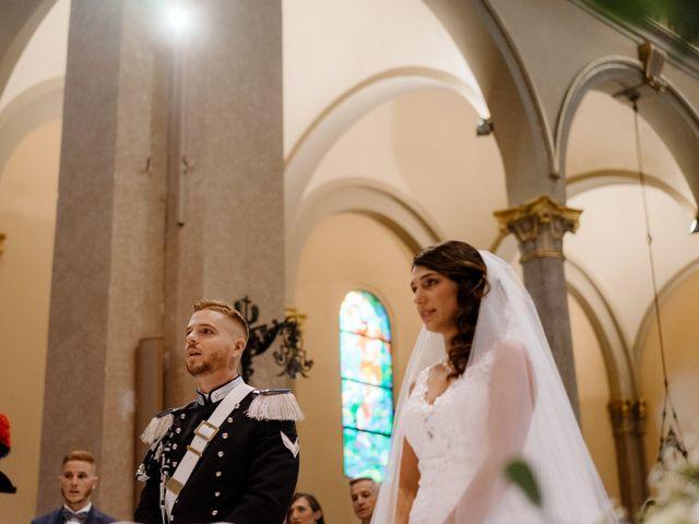 Il matrimonio di Pietro e Alice a Cantello, Varese 25