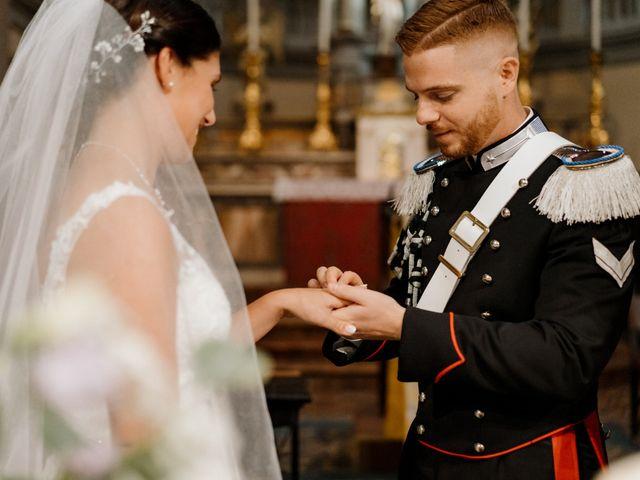 Il matrimonio di Pietro e Alice a Cantello, Varese 30
