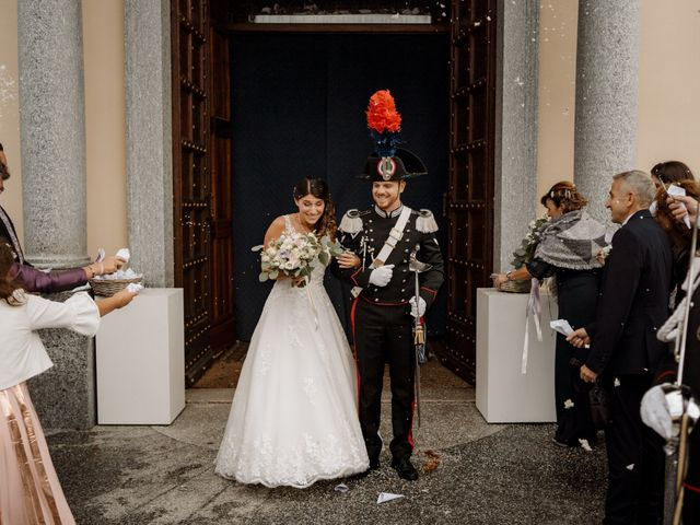 Il matrimonio di Pietro e Alice a Cantello, Varese 34