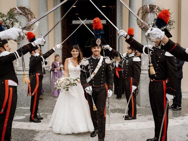 Il matrimonio di Pietro e Alice a Cantello, Varese 35