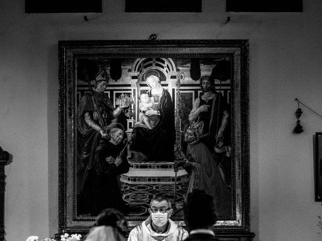 Il matrimonio di Sara e Riccardo a Reggello, Firenze 71
