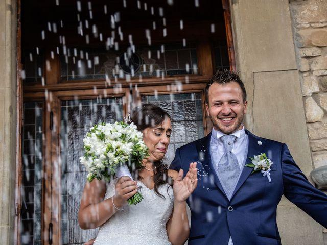 Il matrimonio di Sara e Riccardo a Reggello, Firenze 86