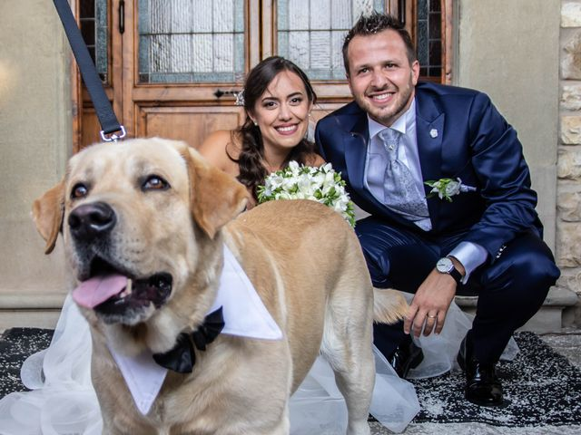 Il matrimonio di Sara e Riccardo a Reggello, Firenze 89